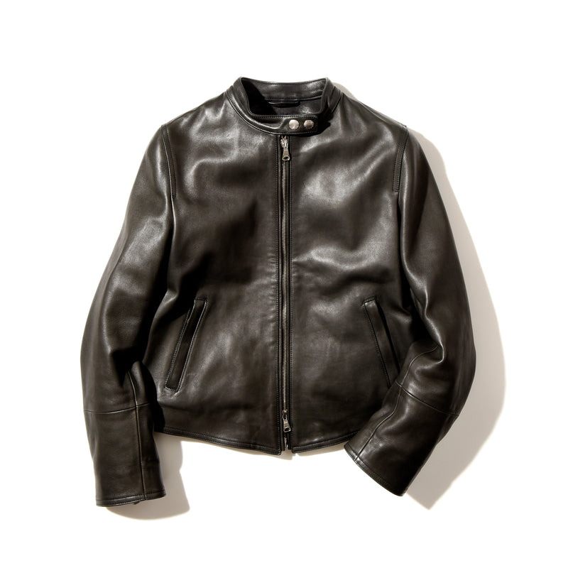 PRE ORDER<br>Leather Single Rider's Jacket<br>Donna