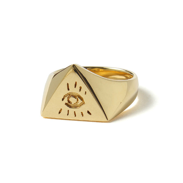 【受注終了しました】<br>PRE ORDER<br>Illuminati Eyes Ring<br>18K Gold