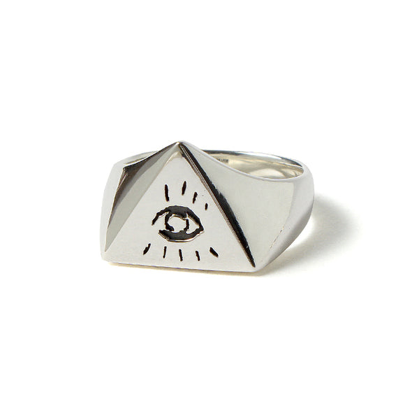 【受注終了しました】<br>PRE ORDER<br>Illuminati Eyes Ring<br>925 Silver
