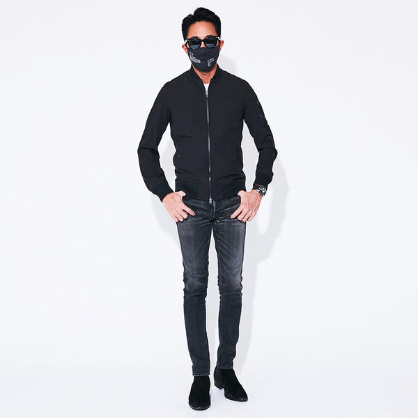 4Way Stretch MA-1 Flight Jacket Black