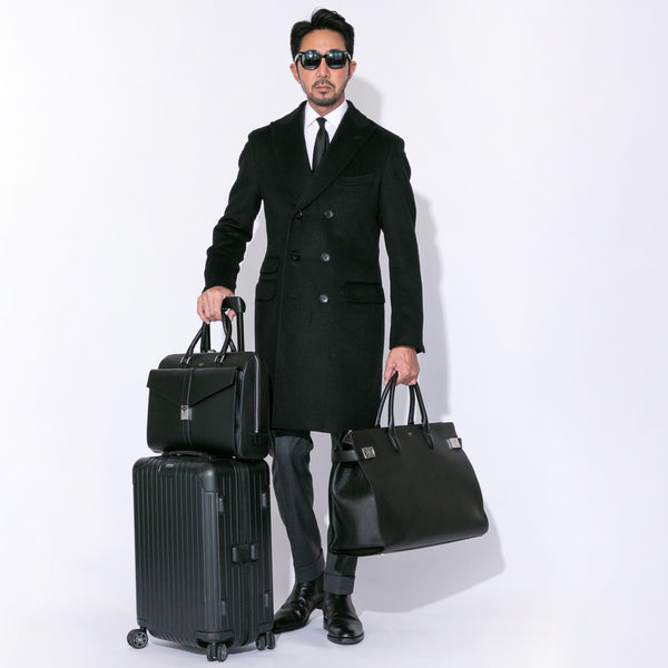 Maiden Voyage HMB001-Boston bag (Travelling Bag) Black