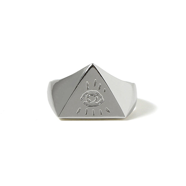 【受注終了しました】PRE ORDER<br>Illuminati Eyes Ring<br>Platinum PT950