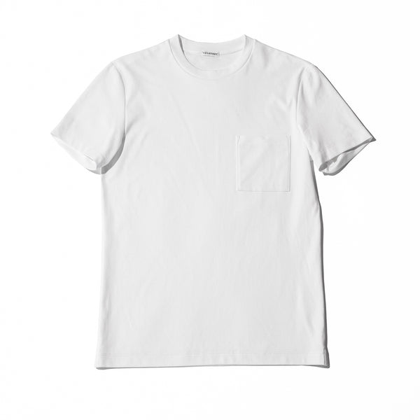 Suvin Platinum Pocket T-shirts<br>Color: White