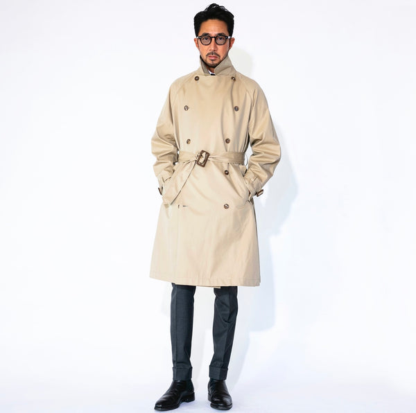 Trench Coat Cotton Gabardine