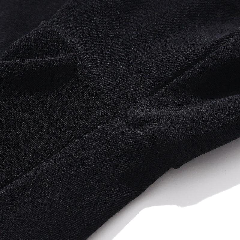 Suvin Platinum Micro Pile Big T-Shirt<br>Color: Black