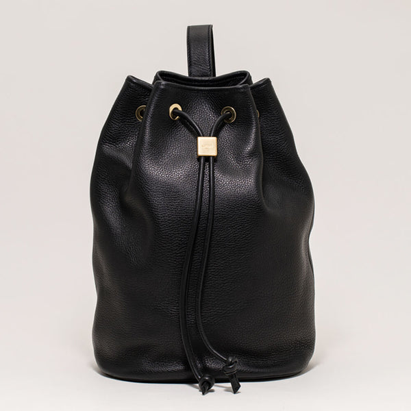 Drawstring Bag Large Black
