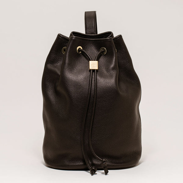 Drawstring Bag Large D. Brown