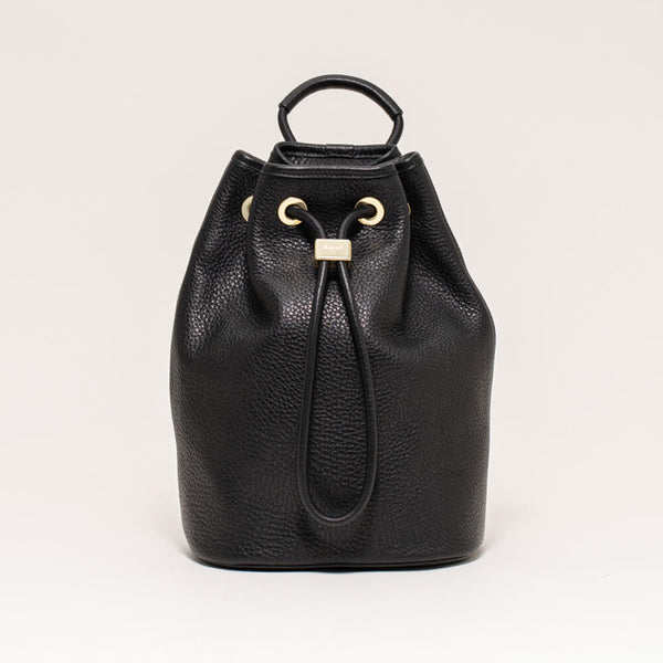 Drawstring Bag Small Black