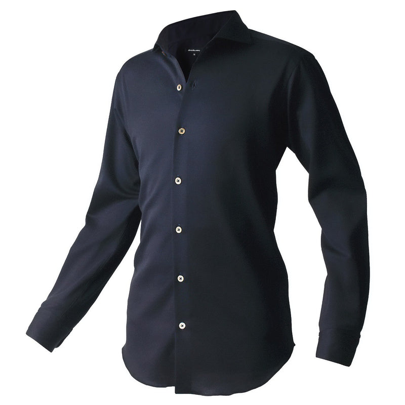 PRE ORDER<br>Knit dress shirts _classic type<br>Col. Darknavy