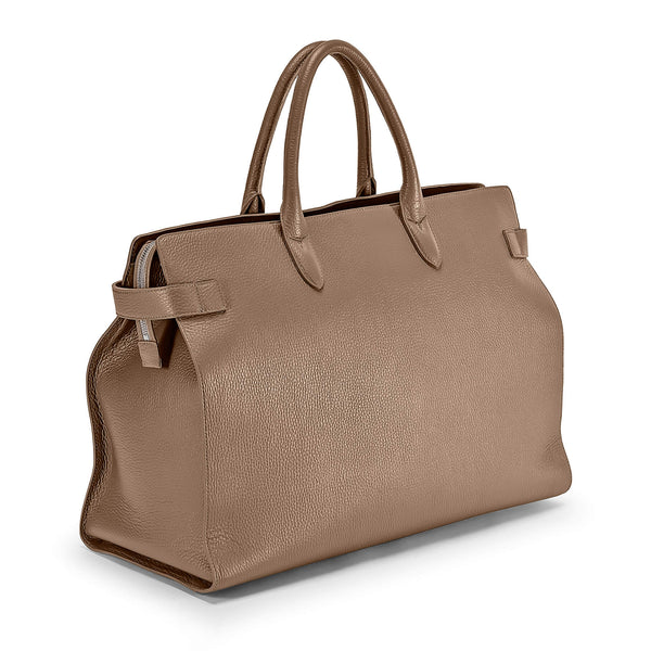 Maiden Voyage HMB001-Boston Bag (Travelling Bag) Taupe
