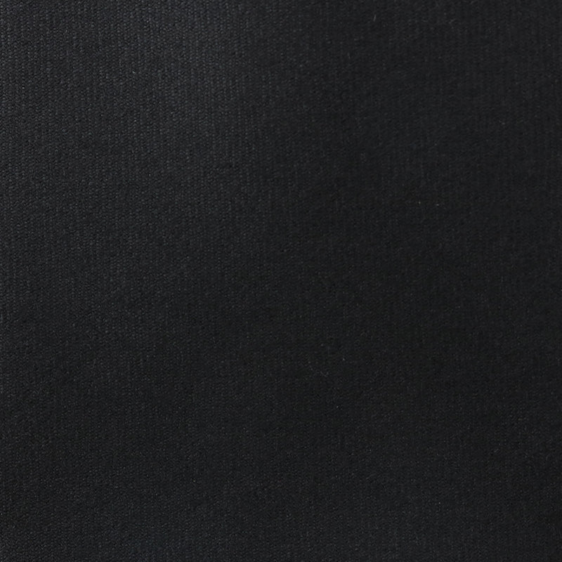 【追加生産中】Solid Wool Black Tie<br>Loro Piana Fabric