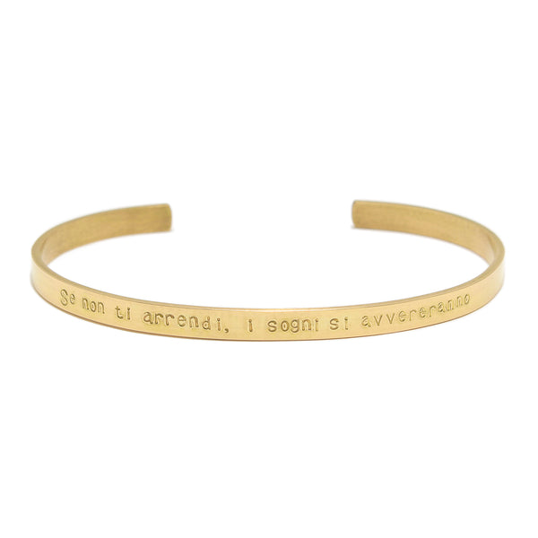 PRE ORDER<br>Collaboration Bangle<br>Parole d'amore <br>18K GOLD