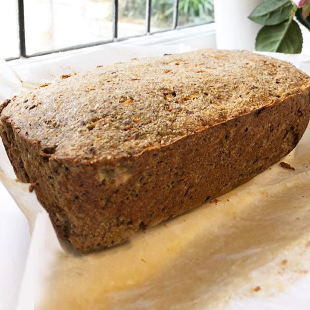 Grain-free carrot and banana bread