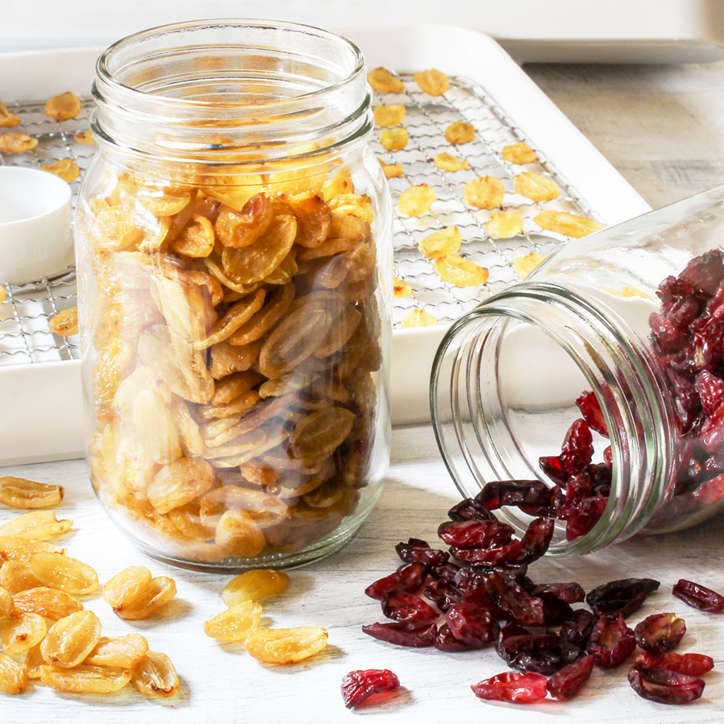 Make your own raisins in a food dehydrator