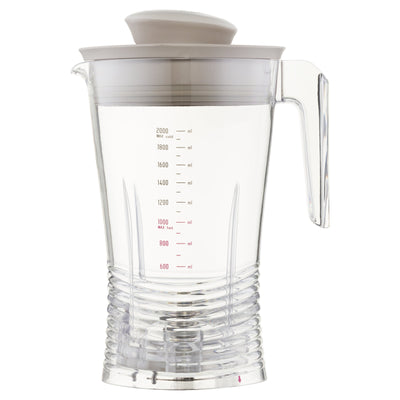 luvele-eu - Replacement Plastic Vibe Blender Jug 2L
