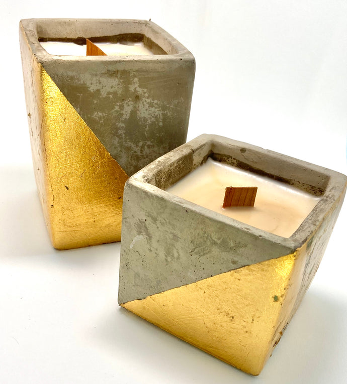Industrial Concrete Candle collection