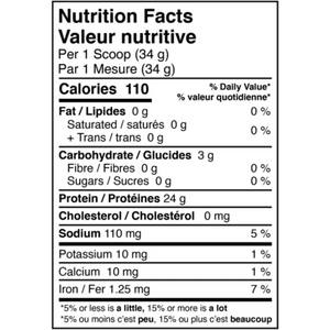 Plantensis Vegan Protein nutrition facts