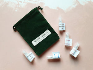 Aromacary™ Discovery Set | Five Spray Samples (2 ml each)
