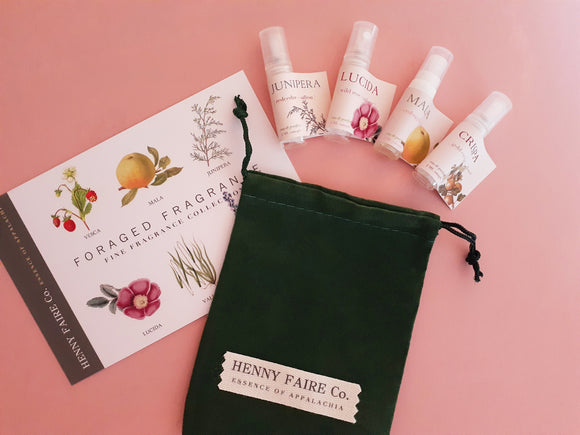 Foraged Fragrances Discovery Set | Perfume Sampler
