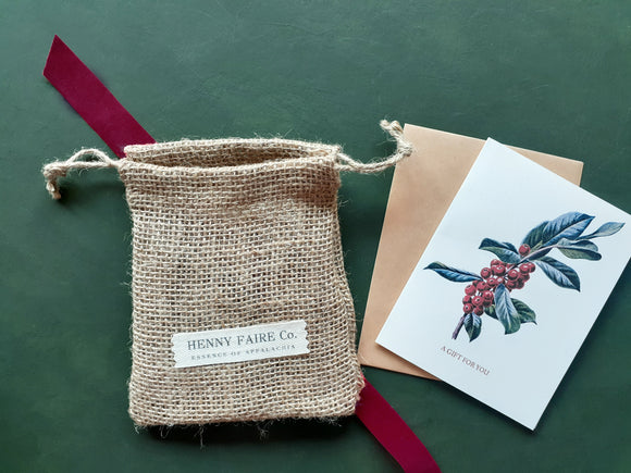 Holiday Gift Packaging with Handwritten Note | Free on Orders $75+