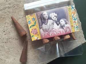 Scents of the Sacred™ EASTER Incense | 6 Scented Incense Cones in Compostable Pouch