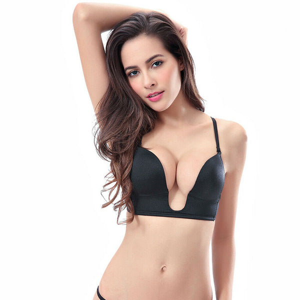 Women's Deep-V Push up Bra