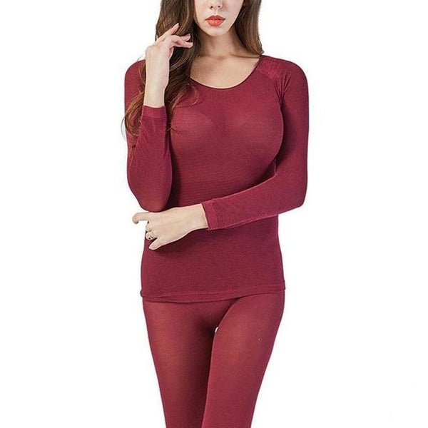 Women Seamless Ultra-thin Thermal Innerwear