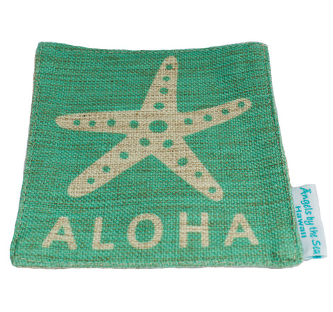 Aloha Palm Tree Round Coaster