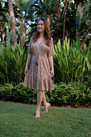 Loha Kona Coffee Dress