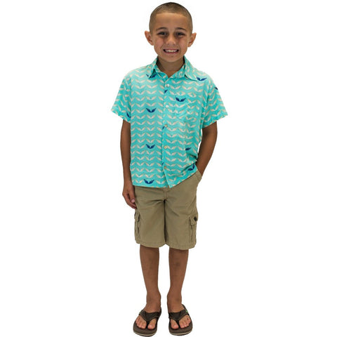 Boys Shirt in Wave