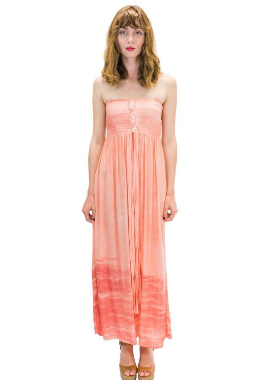 Lani Long Dress in Cloud