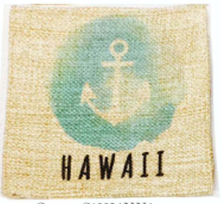 Hawaii Anchor Pillow Case