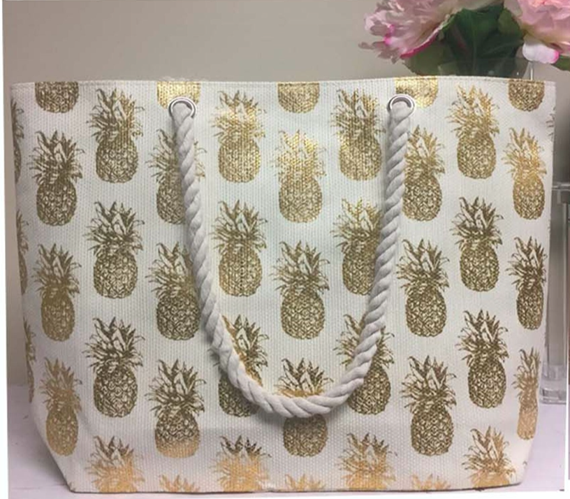Large Pineapple Handbag
