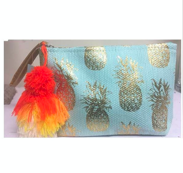 Small Pineapple Zipper Pouch