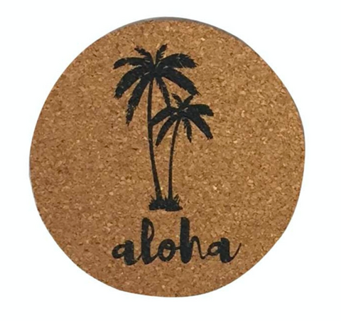 Happy Aloha Sunset Placemat