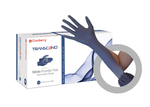 Transcend Nitrile Exam Gloves (Case of 10 boxes, 300 count per box, 250 XL)