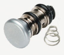 DCI Style Button Valve with Conical Spring