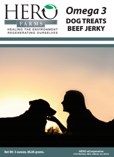 Hero Farms Omega 3 Beef Jerky
