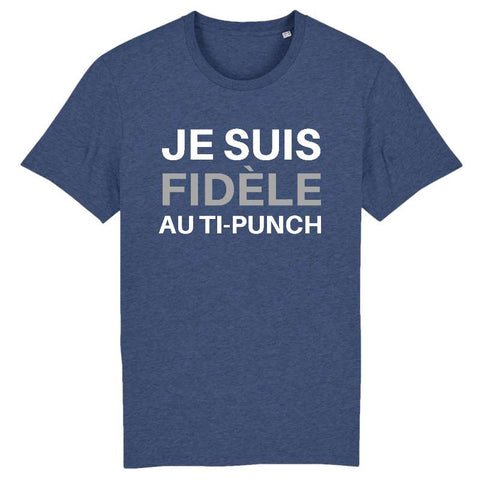 Image of je suis fidele au ti punch tshirt homme
