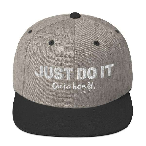 casquette just do it 5