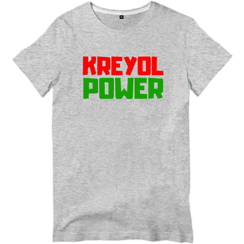 Image of Kreyol creole power T-shirt Homme