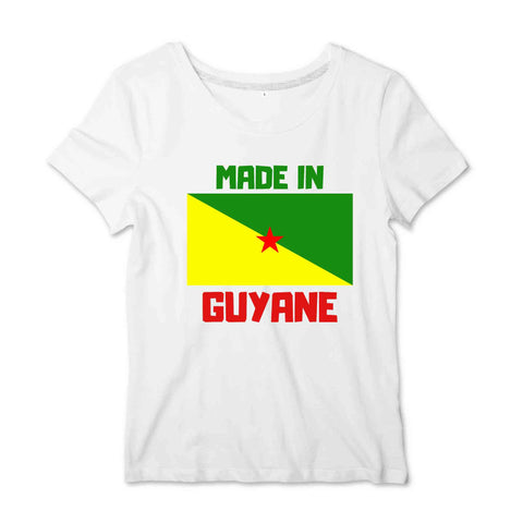 Image of Made in Guyane T-shirt Femme