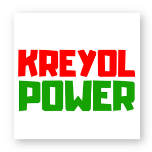 STICKER - KREYOL POWER