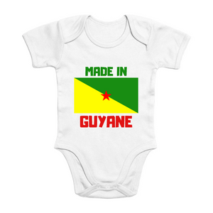 Body Bébé - Coton Bio - Made in Guyane