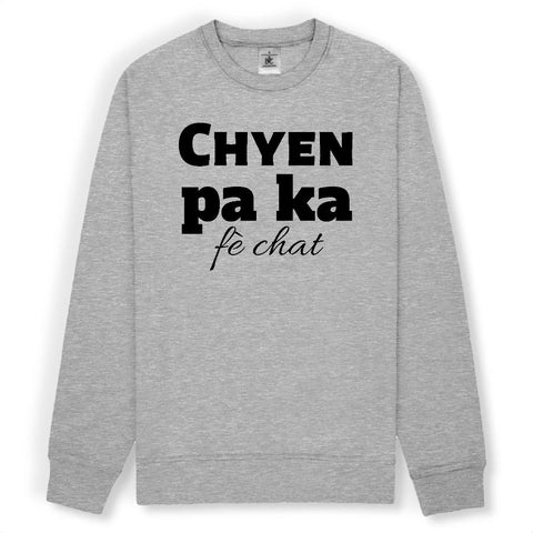 Image of chyen pa ka fè chat sweat