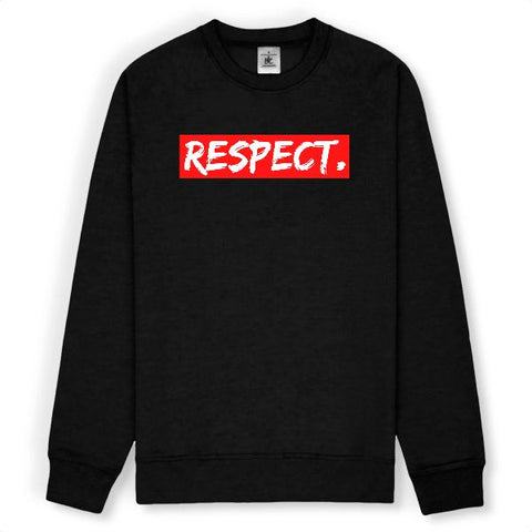 Image of sweat respect