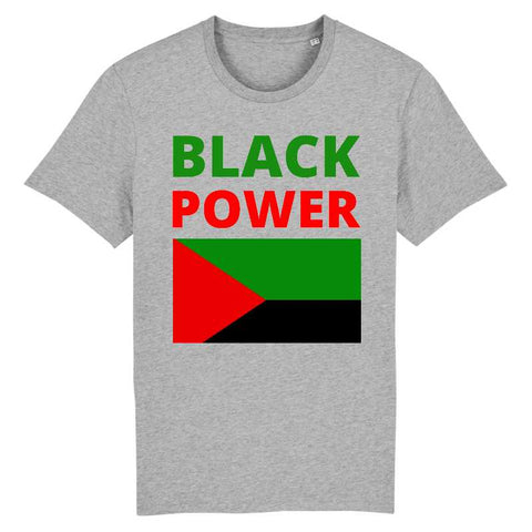Image of black power martinique madinina tshirt homme