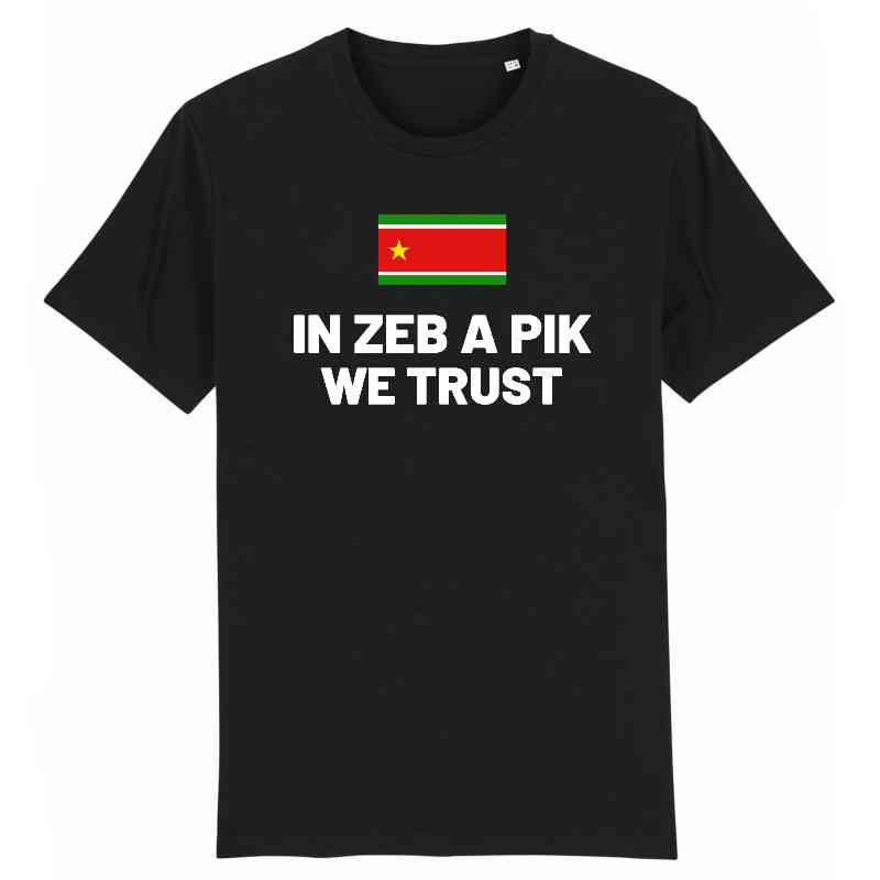 in zeb a pik we trust tshirt homme