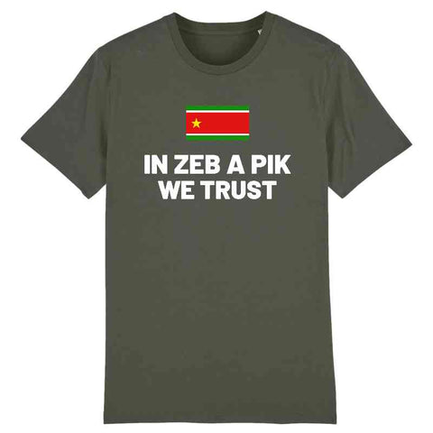 Image of tshirt in zeb a pik we trust homme