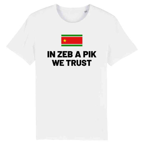 Image of tshirt homme in zeb a pik we trust